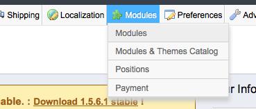 prestashop ezako module installation screenshot